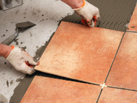 Tile adhesive formulation and application